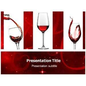 Wine (Ppt)powerpoint Template  Wine Powerpoint Template  Wine
