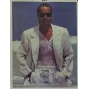 Don Johnson 18x23 Ocean Close Up Poster Miami Vice
