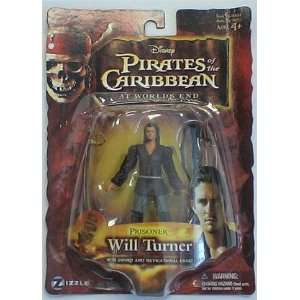 Pirates of the Caribbean At Worlds End Will Turner/ Prisoner Moc