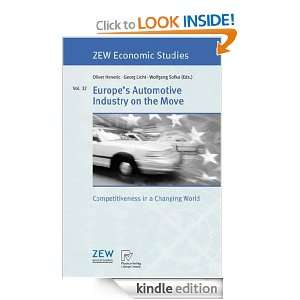 Automotive Industry on the Move: Competitiveness in a Changing World
