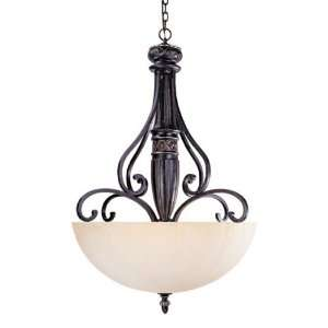Savoy House 7 047 6 59 Bedford 6 Light Ceiling Pendant in