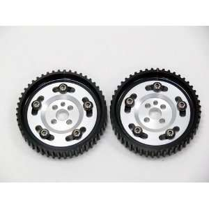 OBX Silver Adjustable Cam Gear   89 90 Nissan Silvia/180SX