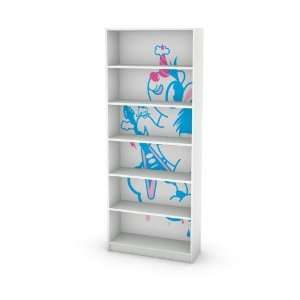 Pony pink Decal for IKEA Billy Bookcase Rear Wall: Home & Kitchen