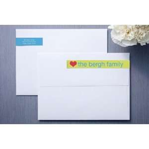 Sunshine and Blue Skinny Wrap⢠Address Labels Office