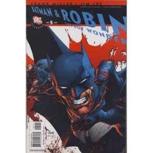 All Star Batman and Robin the Boy Wonder #5 Everything Else