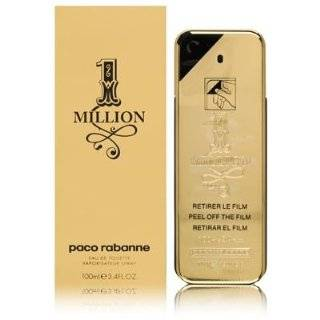 One Million By Paco Rabanne Edt Spray, 3.4 Ounce Beauty