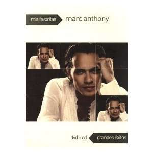 Marc Anthony Mis Favoritas + Cd Movies & TV