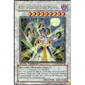 YuGiOh DUEL TERMINAL ALLY OF JUSTICE FIELD MARSHAL ultra