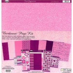 Bordeaux Page Kit by TPC Studio Arts, Crafts & Sewing