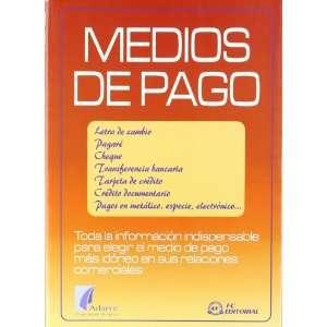 Los medios de pago (9788496169050): Books