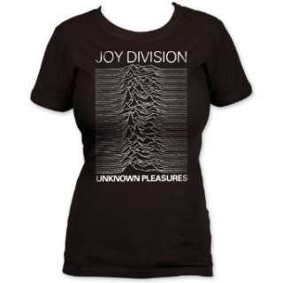 Impact Womens Joy Division Unknown Pleasures Womens T Shirt