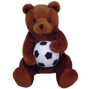 TY Beanie Baby   SWEEPER the Soccer Bear (Retired)  Toys & Games
