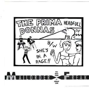of Pills / Shes in a Rage 7 Inch Vinyl The Prima Donnas Music