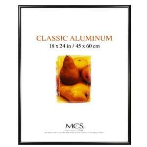 MCS 44843 18 by 24 Inch Black Aluminum Poster Frame: Home