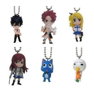 Fairy Tail Mini Deformed Figure Keychains (Set of 6)
