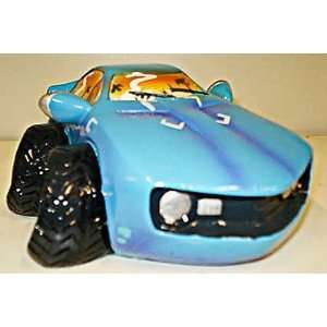 FUN ART Blue Sports CAR Bank Piggy Bank Toys & Games