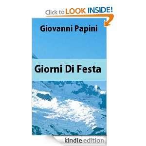 Giorni di festa (Italian Edition) Giovanni Papini  Kindle