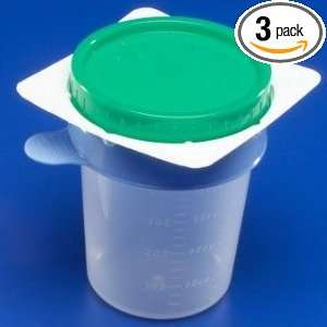 Urine Specimen Collection Cup Kendall 25000 Easy Catch Midstream