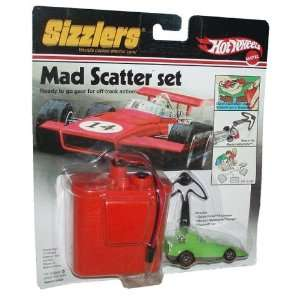Hot Wheels Sizzlers World Coolest Electric Cars Mad Scatter Set