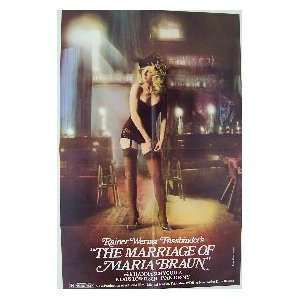 THE MARRIAGE OF MARIA BRAUN Movie Poster