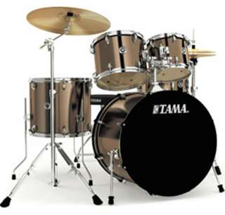 Tama Swingstar 5 Piece Drum Sets with Hardware, Cymbals, and Throne