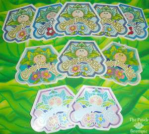 Cabbage Patch Kids Porcelain Doll Name Hang Tags U PICK