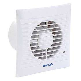 Fans  > Bathroom > Vent Axia Silhouette100T Axial 13W Bathroom Fan