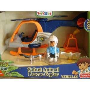 Go Diego Go Safari Animal Rescue Helicopter [Toy]: Toys & Games