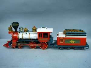 New Bright G Scale Winter Belle Holiday Express Engine & Tender For
