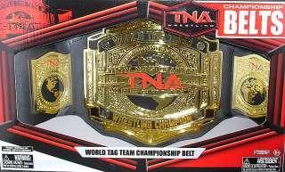 TNA TAG TEAM CHAMPIONSHIP JAKKS TOY WRESTLING BELT