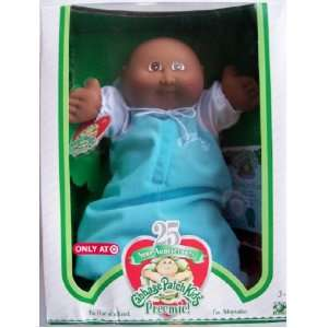 Cabbage Patch Kids 25th Anniversary Preemie African American Boy BALD
