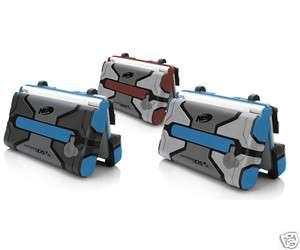 DSi XL   Nerf Armor Case BLUE/DARK GRAY (PICTURED LEFT) (708056078669