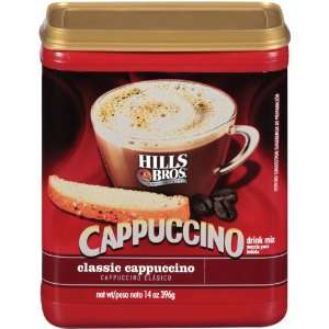 Hills Bros. Coffee, Classic Cappuccino, 14.0 Ounce