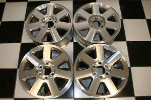 FORD F150 KING RANCH EXPEDITION FACTORY 18 WHEELS / RIMS 3606 (Set of