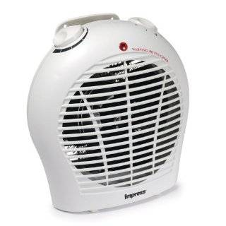 Impress 1500 watt Space Heater with a Quiet Fan and Adjustable