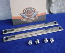 TIN COVER KIT 5 PIECE CHROME WITH SLIDER COVERS FOR HARLEY 1986 2005