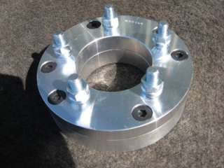 for a set of 4 (Four) New 2 piece billet aluminum wheel adapters
