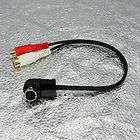 ALPINE CAR RADIO Ai NET DIN CABLE TO RCA JACK KCA 121B