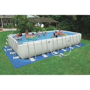 Target Mobile Site   Intex Rectangular Ultra Frame Pool Set   24x12