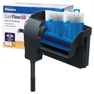 Aqueon Quiet Flow 55 Aquarium Power Filter