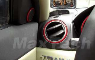 120 Universal Car Interior Exterior Molding Trim Red