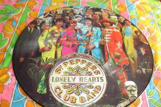 BEATLES PICTURE DISC LP 78 SGT PEPPERS LONELY HEARTS M
