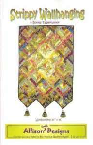 Wallhanging Quilt Pattern Plus Table Runner DIY Quilting