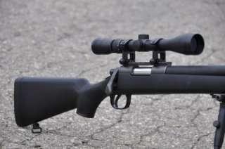 WELL Bolt Action Airsoft Sniper Gun 9X Scope & Bi pod