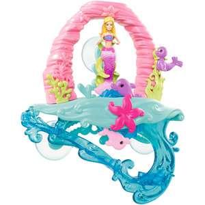 Barbie in A Mermaid Tale 2 Surf to Sea Bath Play Set