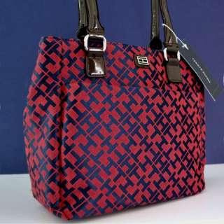 Tommy Hilfiger Red Logo Handbag Purse Bag