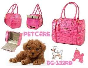 Pink Petcare Pet Dog Cat Bag Carrier 36*23*28cm