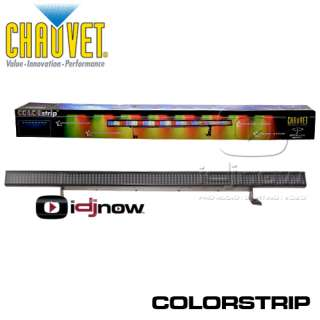 CHAUVET LIGHTING COLORSTRIP LED RGB DMX DJ COLOR STRIP WASH UPLIGHT