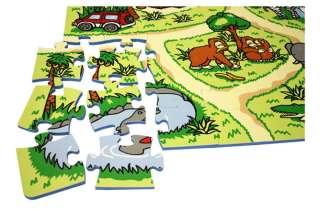 81 Piece Zoo Play Mat Kids Soft Foam Interlocking Baby Infants Floor