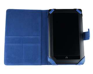 Bundle Monster Nook Color Nook Tablet Synthetic Leather Case Cover